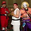 M. Bison, Ryu, and Vega