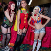 Poison Ivy, Robin, and Supergirl