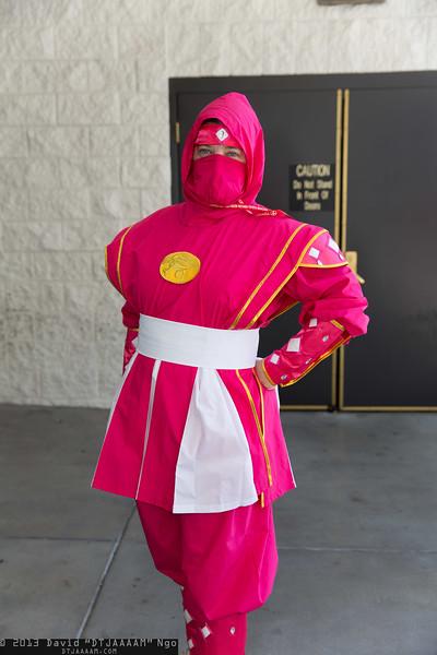 Pink Ninja Ranger