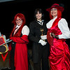 Grell Sutcliff, Sebastian Michaelis, and Angelina Durless