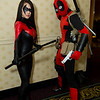 Nightwing and Deadpool