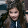 Animal Adventures out of Bolton visited the Fitchburg Public Library on Friday, Dec. 27, 2019 with some of their animals. A chinchilla from Animal Adventures sits on the head of Olivia Perko, 8, of Leominster during the show. SENTINEL & ENTERPRISE/JOHN LOVE