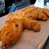 Sour dough creativity at it's best.  Yes...it's an Caiman (a mini aligator!)
