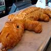 Sour dough creativity at it's best.  Yes...it's an Caiman (a mini aligator!)