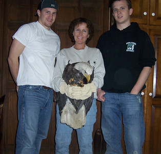 THREE Eagles and a Mom