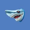 Shark Head, 8'L  #7134