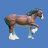 Plain Clydesdale #7194