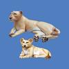 Lioness #7075<br /> Lion Cub #7077