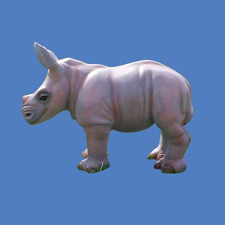 Baby Rhino, life size #7192