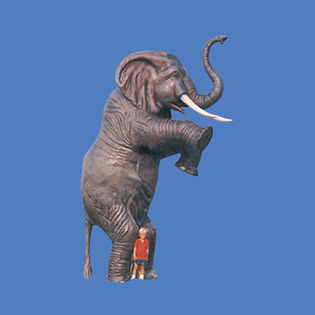 Elephant, 21'H   #7046