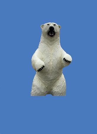 """Polar Bear 7'6""""H #7298"""