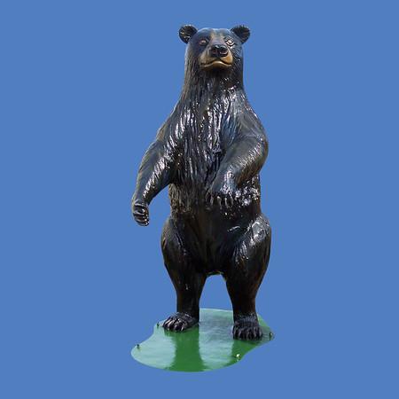 Standing Bear, 9'H #7032