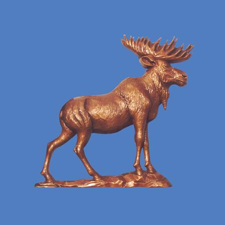 Moose Plaque #7030
