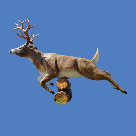 Deer Jumping, 20'L  #7025