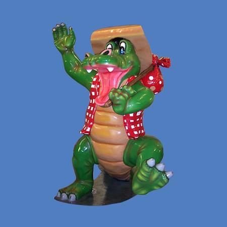 Uncle Alligator, 8'H   #7153