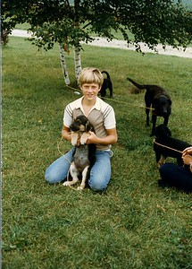 Peter with Wiggles & Pups
