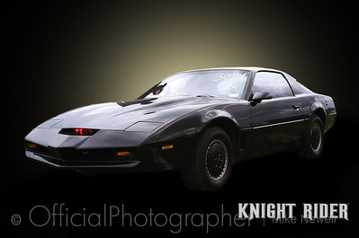 Knight Rider replica taken at Ruapuna drags. Photoshopped by me. Although the car I hadven't touched. The red light on the bumper really is there.