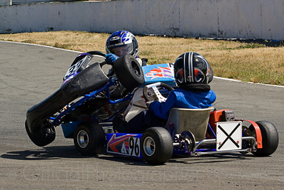 Carrs Road Go Karting, Christchurch.