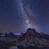 Milky Way over Assiniboine