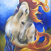 """Power and Glory"" (oil on canvas) by Randi Evans"