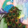 """Feathers"" (acrylic) by Aria Nicholson"