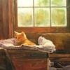 """Slumberland"" (oil) by Joseph Sundwall"