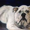 """""""Sadie"""" (acrylic) by Barbara Dunlap"""