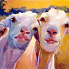 """Earl & Pearl"" (oil) by Betty Rhodes"