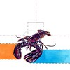"""""""Consider the Lobster"""" (watercolor) by Seth Scheving"""