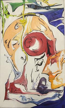 """""""Claustrophobia"""" (oil, canvas) by Alena Blinova"""
