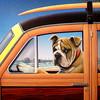 """Bulldog Woody"" (acrylic) by Don Roth"
