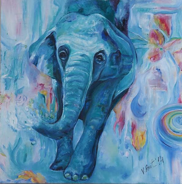 """Dreamcatcher"" (oil on canvas) by Valentina Butnarciuc"