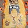 """Safari Lions"" (acryic on canvas) by Valentina Chernikova"