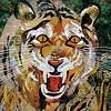 """Paper Tiger"" (collage) Bob Craig"