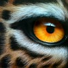 """The Eye of the Tiger"" (aerographics) by Olga Kozulenko"