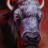 """""""Taurus"""" (oil on linen) by Anna Nikolaeva"""