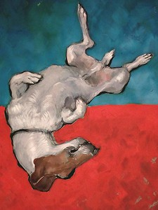"""Cheddar"" (gouache) by Polina Brusova"
