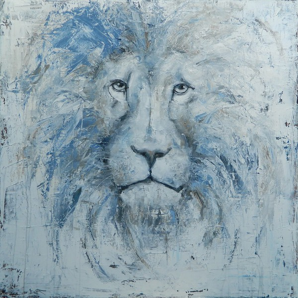 """""""His Majesty"""" (oil) by Dan Campbell"""