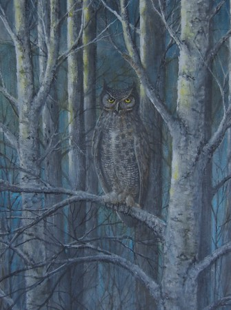 """Daybreak"" (oil on canvas) by Jim Trusilo"