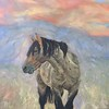 """Mystical Wild Stallion"" (oil on canvas) by Amber Sampson"