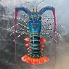 """Rainbow Lobster"" (oil) by Daria Ivashchenko"