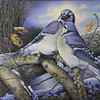 """""""Majestic Presence"""" (acrylic) by Cheryl Plautz"""