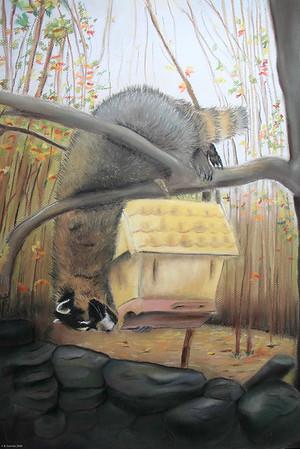 """Bandit"" (pastel) by Barbara Gulotta"