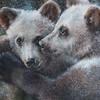 """""""Brothers"""" (oil pastel) by Nadezhda Varsegova"""