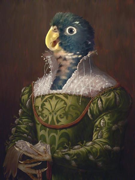 """""""June"""" (digital painting) by Maranda Brienzi"""