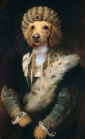 """Lucy"" (digital painting) by Maranda Brienzi"