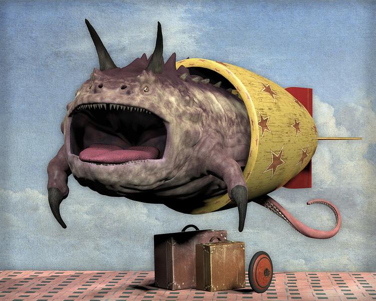 """Departure"" (digital) by Don Bergland"