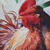 """Kooky"" (acrylic) by Cheryl Plautz"