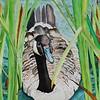 """Emerging"" (watercolor) by Sonja Jones"