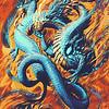 """Oriental Dragon"" (digital) by Oxana Bayra"